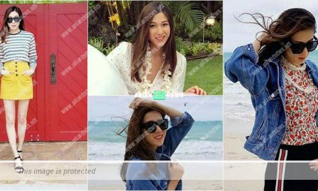 Linda Chung shares photo of her growing stomach: I wish to swim and sun tan