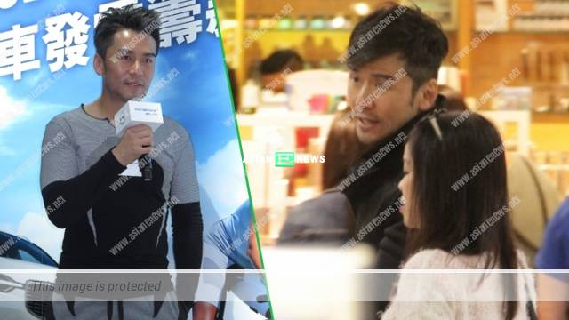Michael Tong is spotted with a new girl at Causeway Bay?