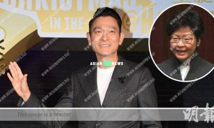Andy Lau hopes ticket sales industry will grow healthily