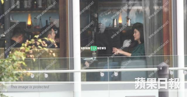 Bernice Liu goes for high tea with her boyfriend after her work