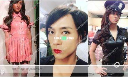 Bosco Wong disguises himself as a woman