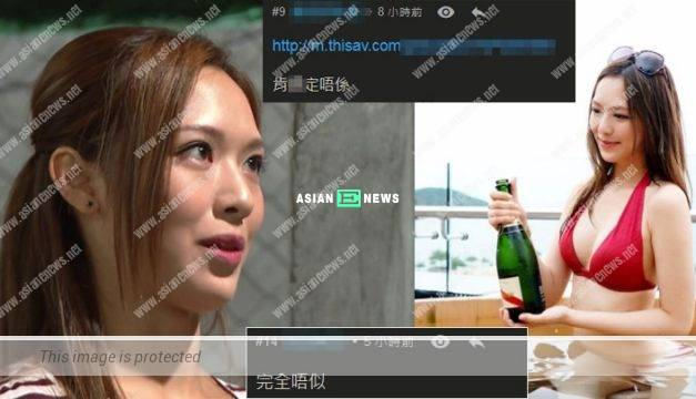 Crystal Fung's video clip goes viral? Netizens believe she is not her