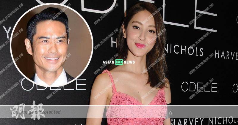 Grace Chan gives 100 marks to her boyfriend, Kevin Cheng
