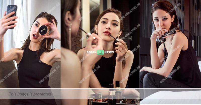 Grace Chan transforms into a fashionable woman in her latest make-up