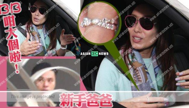 Kenix Kwok is discovered by the paparazzi to visit Lynn Hung's babies