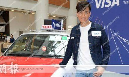 Kenneth Ma transforms into a cabby to film taxi advertisement