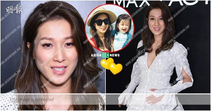 Linda Chung wears high heels and plans to stop having baby after this pregnancy