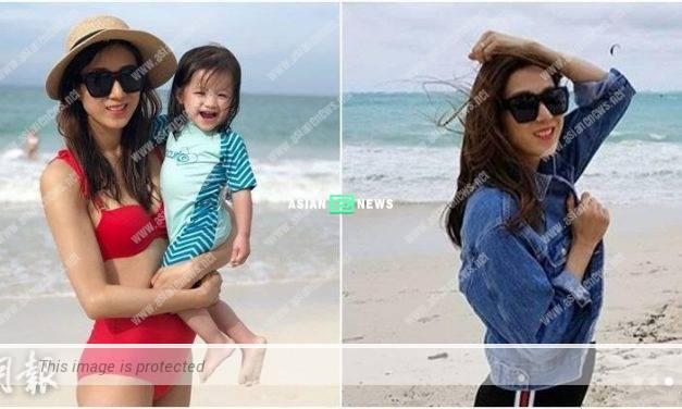 Expecting Linda Chung wears red bikini