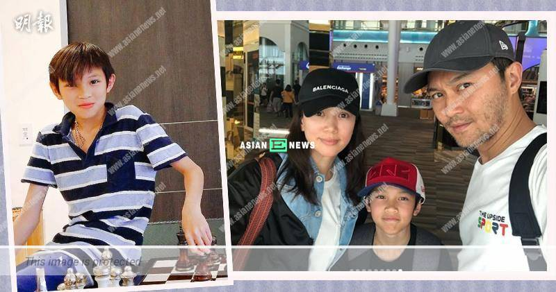 Morton Cheung inherits good genes from Julian Cheung and Anita Yuen