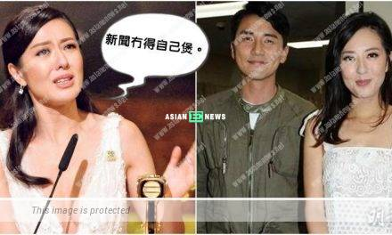 Netizen points Natalie Tong makes use of reconciliation with Tony Hung to create news