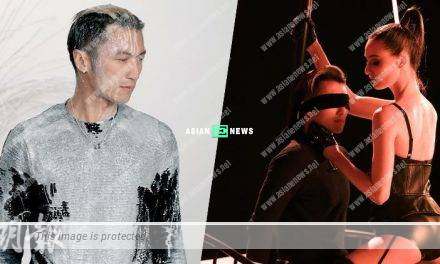 Nicholas Tse has no reaction when he is seduced by a hot babe