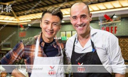 (Celebrity Chef: East vs West show) Nicholas Tse is taking the lead