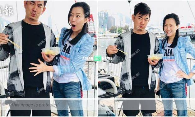 Richie Ren gains weight successfully; Sammi Cheng says it is a suffering process