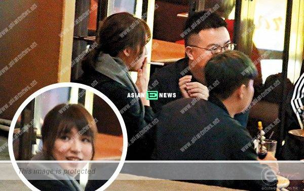 Snow Suen smokes and drinks with her friends at a pub