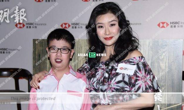 Angie Cheong must work hard to pay for her adopted son's medical fees
