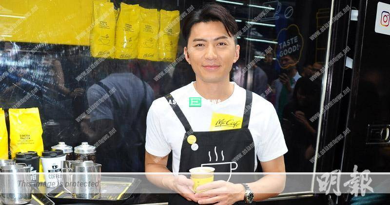 Benjamin Yuen is a coffee lover and hopes to open a cafe