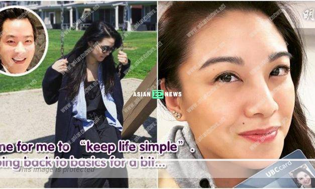 Bernice Liu has relationship problem? She pursues her studies in Vancouver