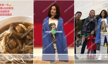 Charlene Choi eats abalone noodles recommended by Shu Qi and Nicholas Tse