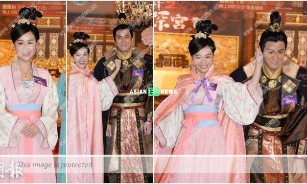 Jacqueline Wong is a gentle girl? She pinches Kenneth Ma's ears