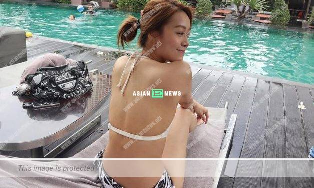 Jacqueline Wong wears bikini; Netizens request for front view