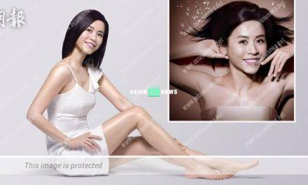 Jessica Hsuan reveals her beautiful body in skincare advertisement