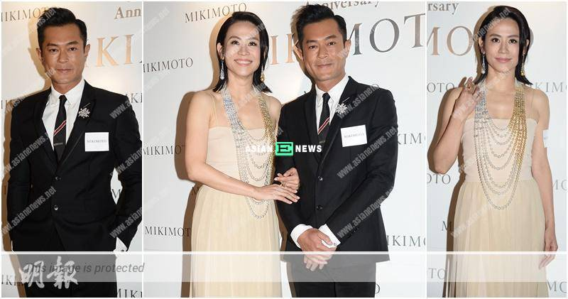 Jessica Hsuan receives compliments from Louis Koo: He sounds very fake