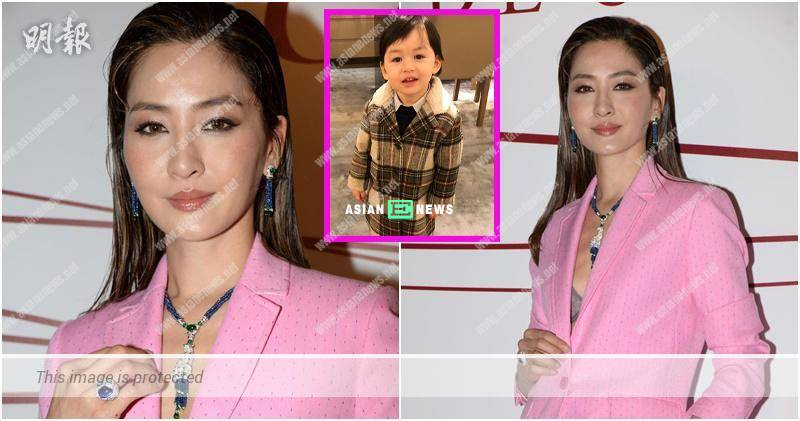 Kathy Chow's son prefers to play with older girls