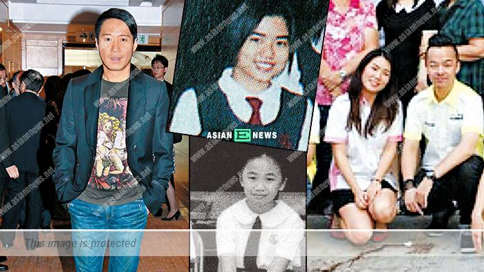 """The public do a background search on Leon Lai's """"wife"""", Wing"""