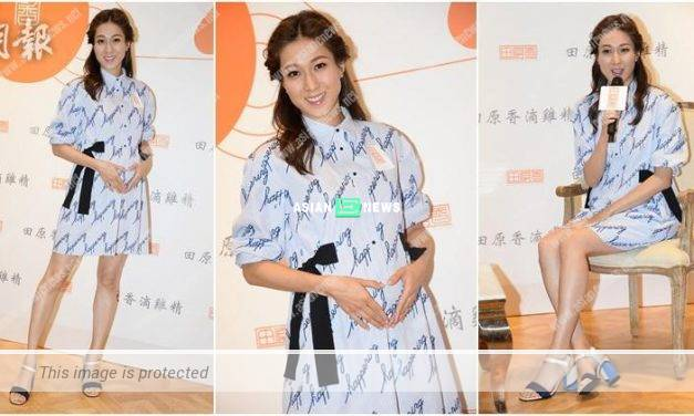 Linda Chung returns to Canada; Hong Kong fans see her after a year
