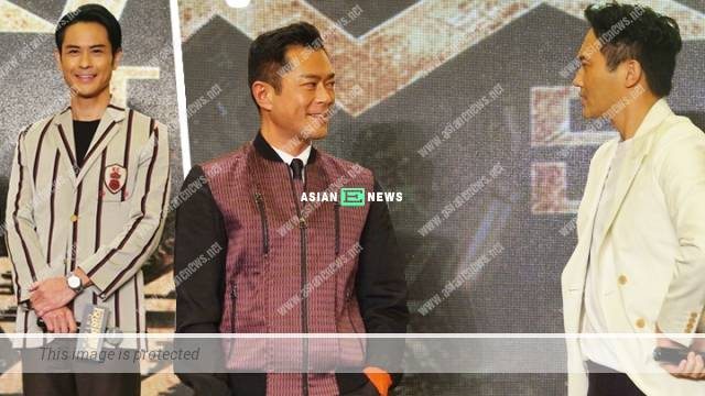 Louis Koo and Julian Cheung stare at each other; Kevin Cheng has bed scene?