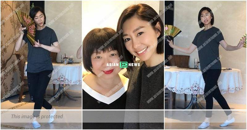 Nancy Wu focuses on rehearsing for the stage play