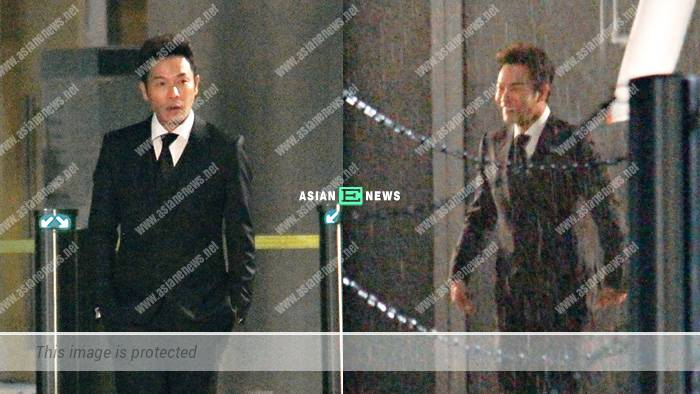TV King, Roger Kwok causes NG during the filming