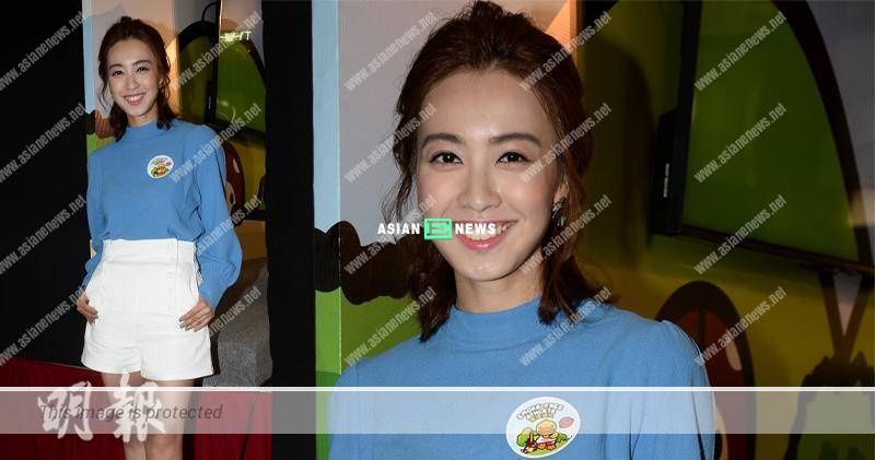 Tracy Chu wears long sleeve top during the hot weather