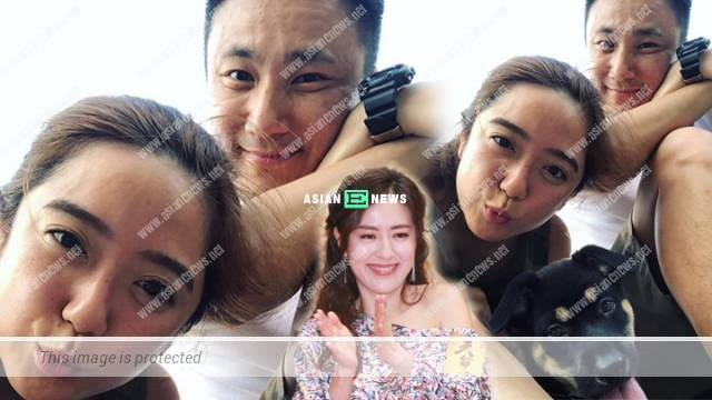 Amigo Chui goes for hiking with his girlfriend; Old love, Natalie Tong gives a like