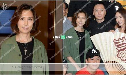 Amy Kwok has no intention to make a comeback: I leave it to Sean Lau