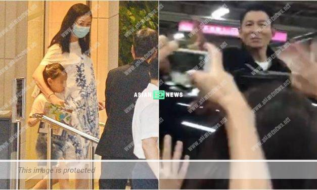 Andy Lau denies his wife is pregnant: I try very hard every night