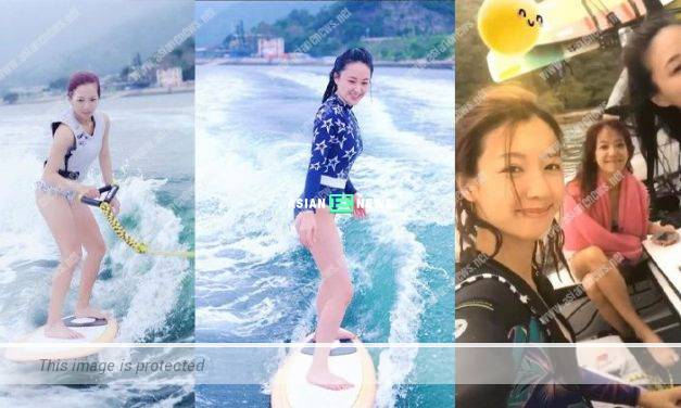 Jeannie Chan and Stephanie Ho fall in love with wake surfing