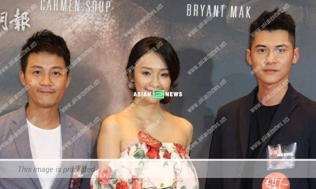 Bryant Mak takes care of Carlos Chan when filming in Malaysia