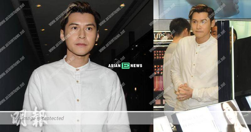 Carlos Chan tries to force a smile and defends his old love, Jennifer Yu again