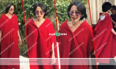 "Faye Wong says ""go away"" at a fashion show in Shanghai"