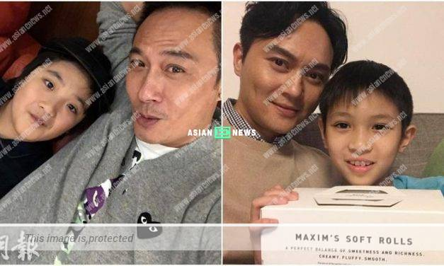 Francis Ng's son, Feynman is fat? Julian Cheung points his son, Morton is too skinny