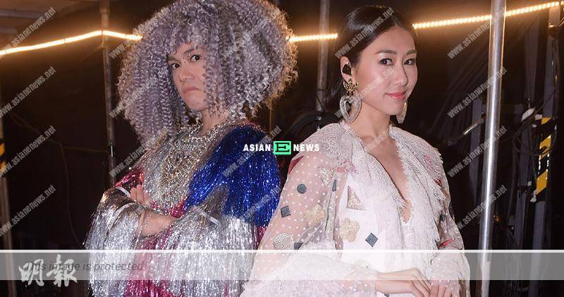 Nancy Wu is invited to Hins Cheung's concert as the guest; She wants to puke?
