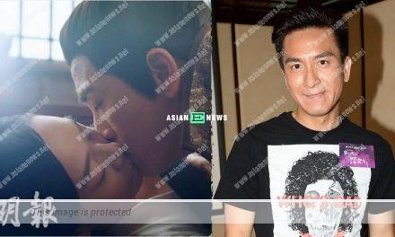 Many friends ask Kenneth Ma about his kissing scene with Jacqueline Wong