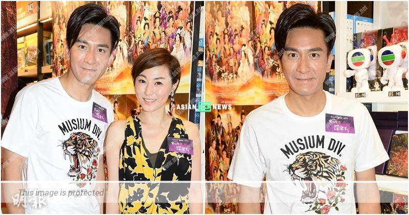 Kenneth Ma films two series and lacks of time to watch world cup