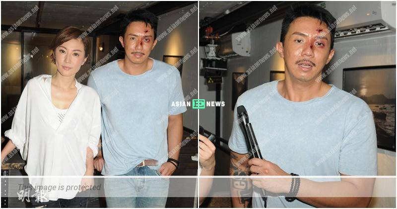 Louis Cheung finds it difficult to shoot with parrot in new series