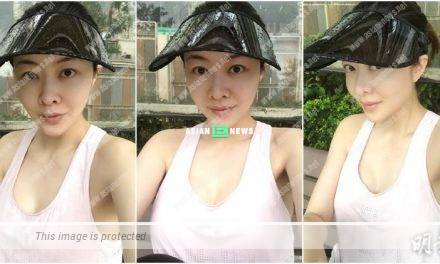 Beautiful mum Lynn Hung exercises alone and remains fit