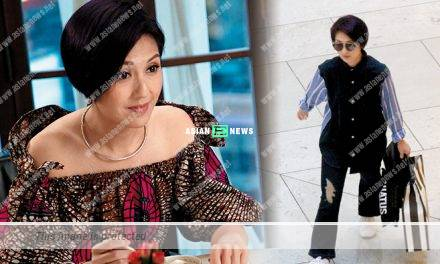Miriam Yeung films TVB drama again; She shops for branded goods