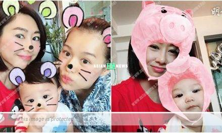 Nancy Wu visits Myolie Wu's son, Baby Lee: Please grow up slowly