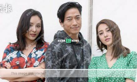 Ron Ng feels fortunate to film love triangle scene with Grace Chan and Jeana Ho