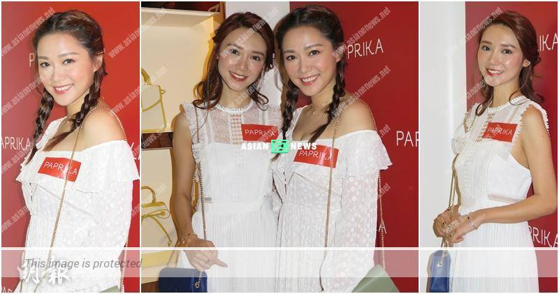 Roxanne Tong and Elva Ni resemble sisters and attend an event together